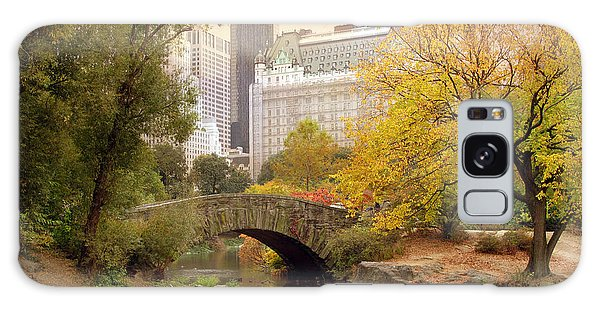 Galaxy Case featuring the photograph Gapstow Bridge Reflections by Jessica Jenney