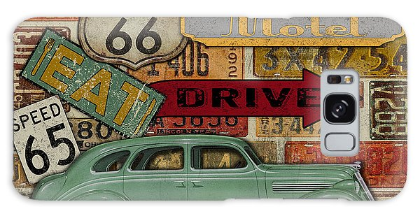 Old Florida Galaxy Case - Garage Special-jp3489 by Jean Plout