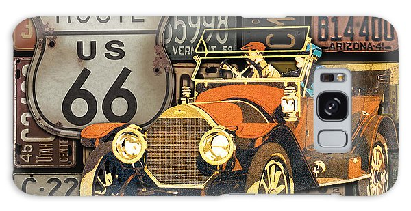 Old Florida Galaxy Case - Garage Special-jp3490 by Jean Plout