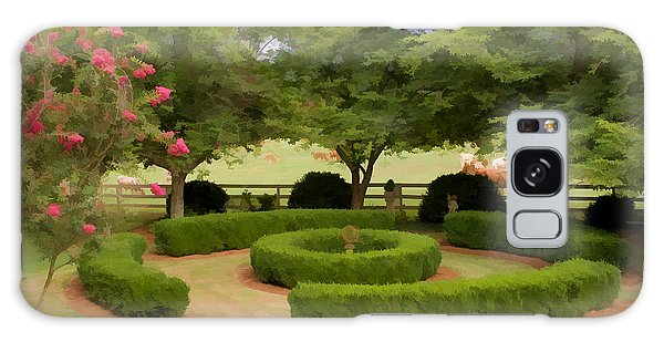 Garden At Colonial Heights Galaxy Case