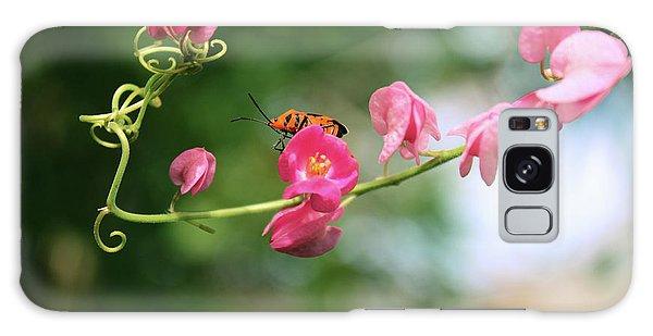 Galaxy Case featuring the photograph Garden Bug by Megan Dirsa-DuBois