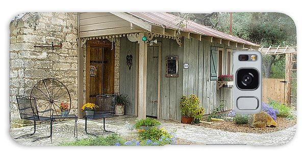 Garden Cottage Galaxy Case