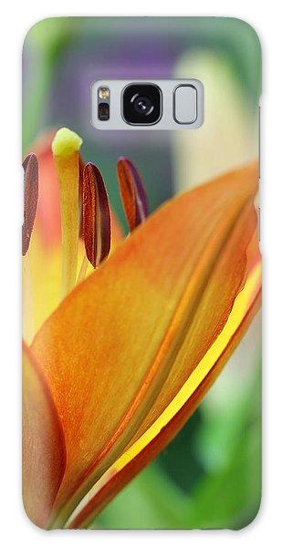 Garden Delight Galaxy Case by Deborah  Crew-Johnson