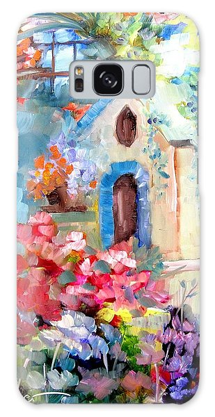Garden Door  Galaxy Case