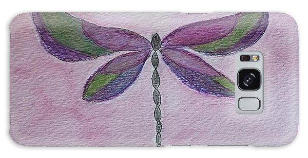 Garden Dragonfly Galaxy Case