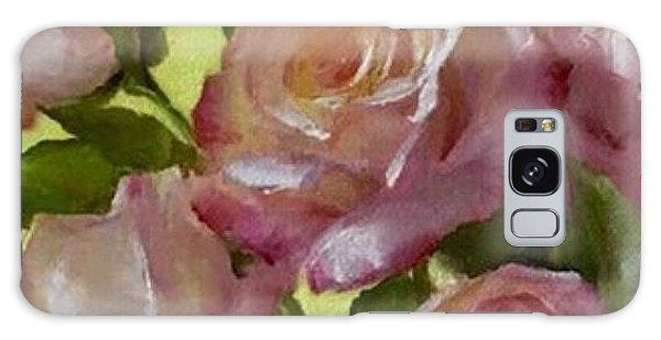 Garden Elegance Detail Image Galaxy Case