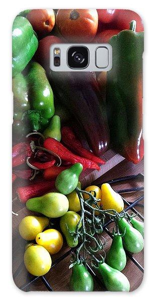 Garden Fresh Produce Galaxy Case