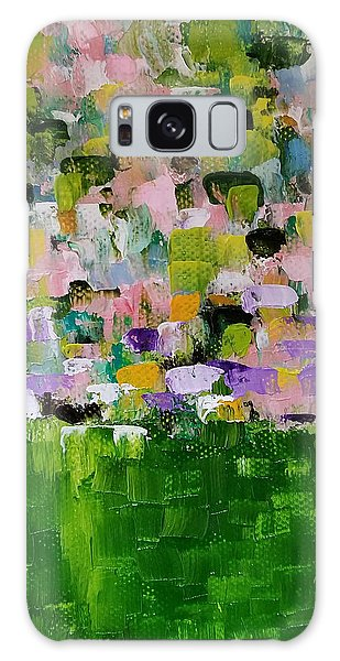 Galaxy Case featuring the painting Garden Glory by Judith Rhue