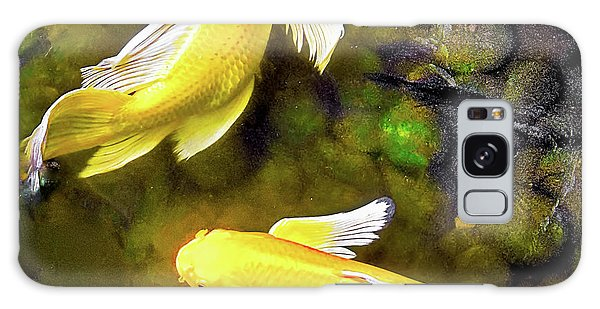 Garden Goldenfish Galaxy Case