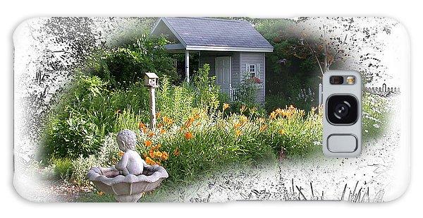 Garden House Galaxy Case