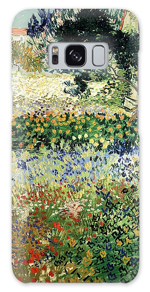 Galaxy Case featuring the painting Garden In Bloom by Van Gogh