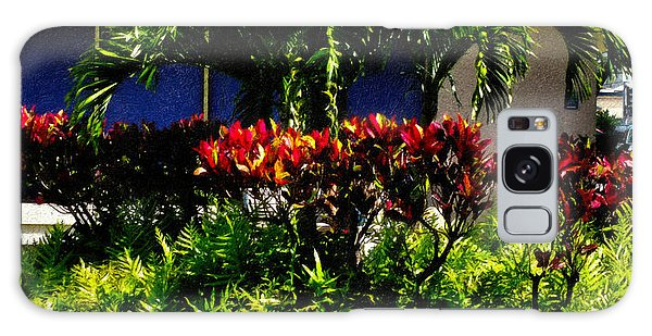 Garden Landscape 4 In Abstract Galaxy Case