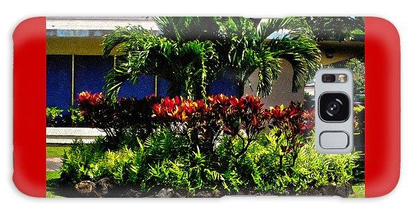 Garden Landscape 4 In Abstract Galaxy Case