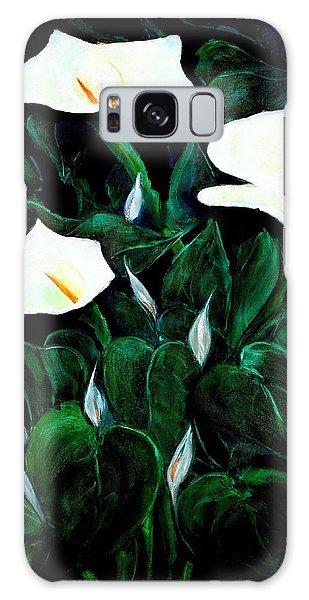 Garden Lilies Galaxy Case