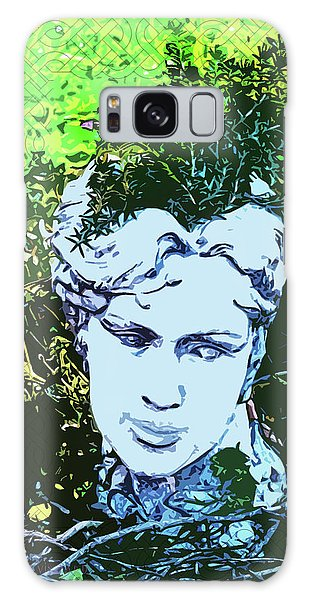 Garden Nymph Head Planter Galaxy Case