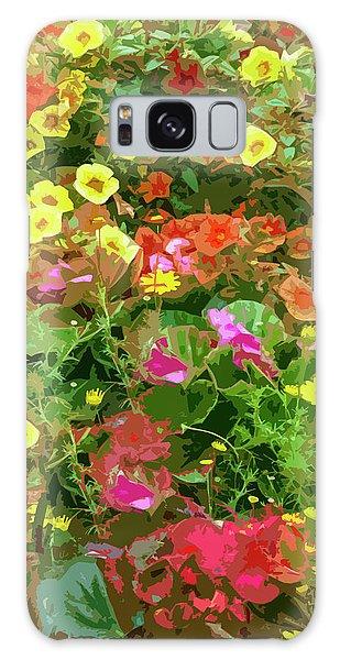Garden Of Color Galaxy Case by Josy Cue