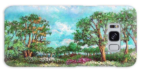 Summer In The Garden Of Eden Galaxy Case by Randy Burns