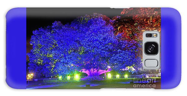 Galaxy Case featuring the photograph Garden Of Light By Kaye Menner by Kaye Menner