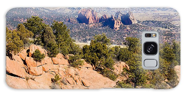 Garden Of The Gods And Springs West Side Galaxy Case