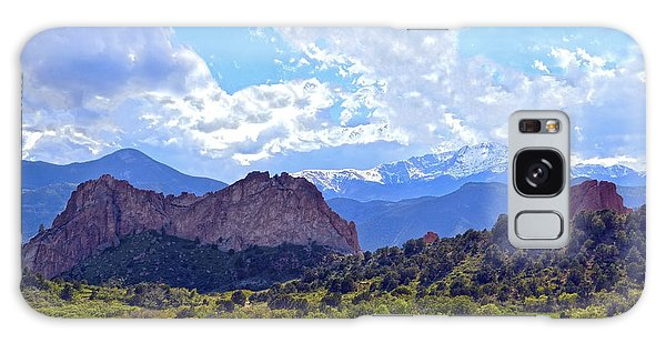 Garden Of The Gods Galaxy Case by Catherine Sherman