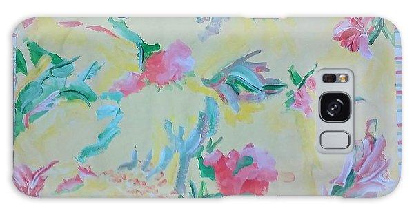 Garden Party Floorcloth Galaxy Case by Judith Espinoza