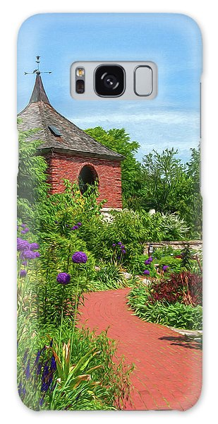 Garden Path Galaxy Case by Trey Foerster