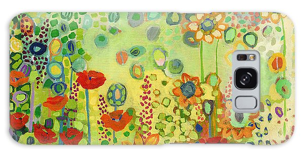 Sunflower Galaxy S8 Case - Garden Poetry by Jennifer Lommers