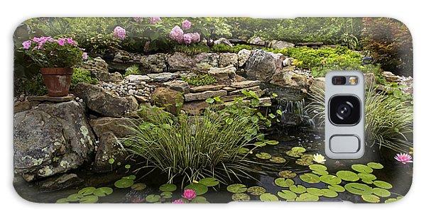 Garden Pond - D001133 Galaxy Case
