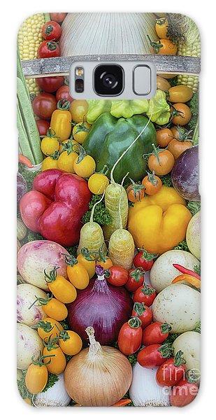 Garden Produce Galaxy Case by Tim Gainey