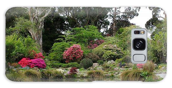 Garden Reflection Galaxy Case