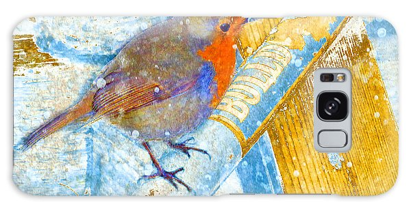 Garden Robin Galaxy Case by LemonArt Photography
