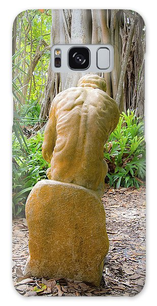 Garden Sculpture 2 Galaxy Case