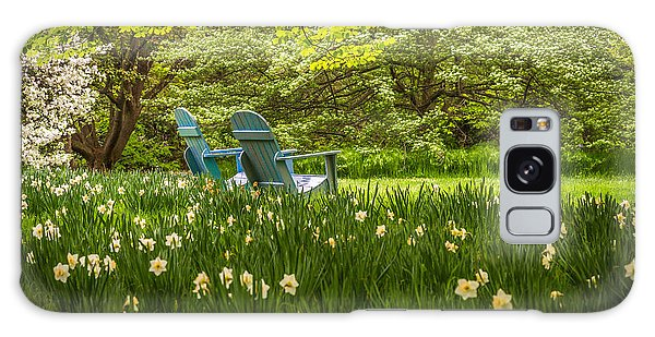 Garden Seats Galaxy Case