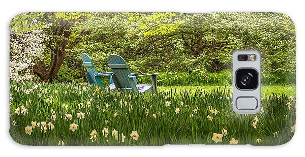 Garden Seats Galaxy Case