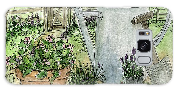 Garden Tools Galaxy Case