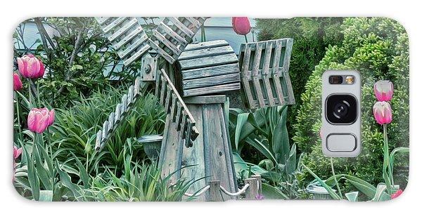 Garden Windmill Galaxy Case