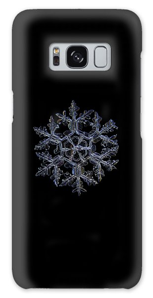 Gardener's Dream, Dark On Black Version Galaxy Case