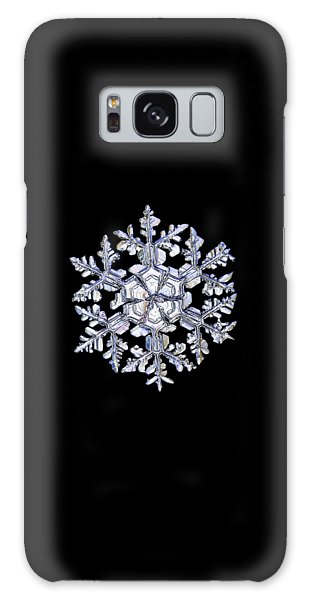 Gardener's Dream, White On Black Version Galaxy Case by Alexey Kljatov