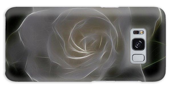 Gardenia Galaxy Case - Gardenia Blossom by Deborah Benoit