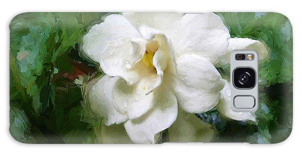Gardenia Blossom Galaxy Case