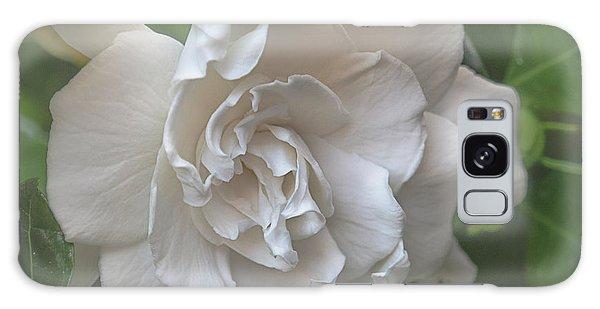 Gardenia Galaxy Case - Gardenia Blossom by Teresa Wilson