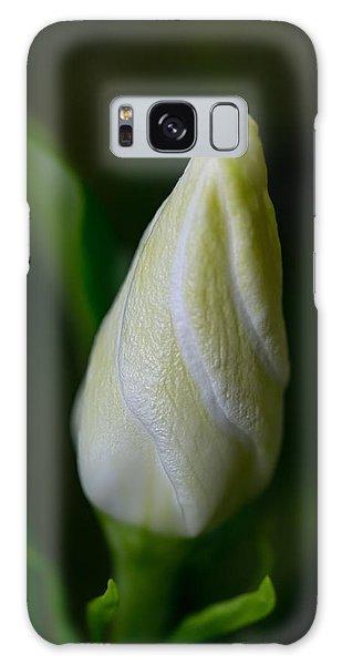 Gardenia Galaxy Case - Gardenia Bud by Dale Kincaid