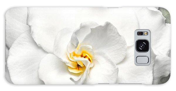 Gardenia Galaxy Case - Gardenia  by Diana Angstadt