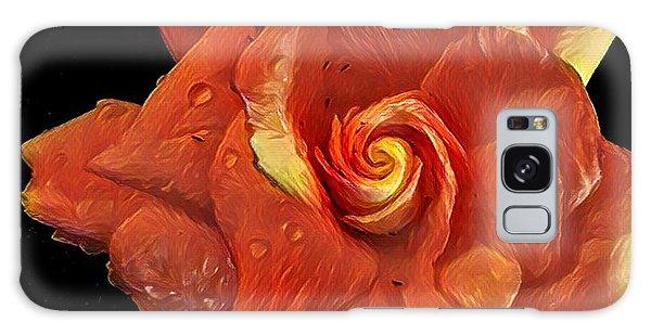 Gardenia For Madam Pele Galaxy Case