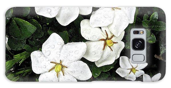 Gardenias In The Rain Galaxy Case
