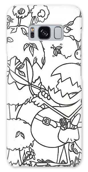 Gardening Monster Galaxy Case