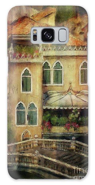 Gardening Venice Style Galaxy Case by Lois Bryan