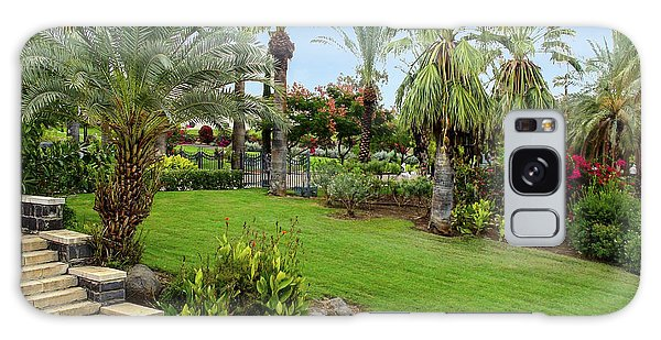 Gardens At Mount Of Beatitudes Israel Galaxy Case