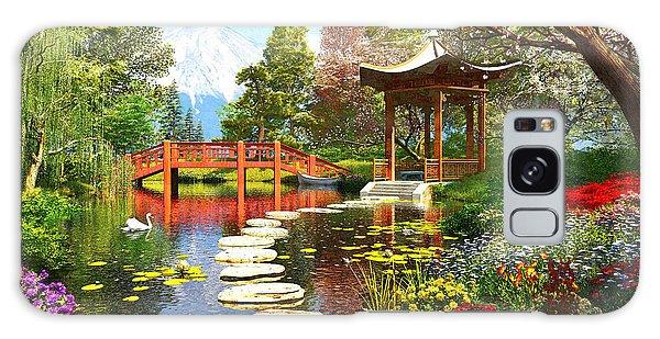Gardens Of Fuji Galaxy Case