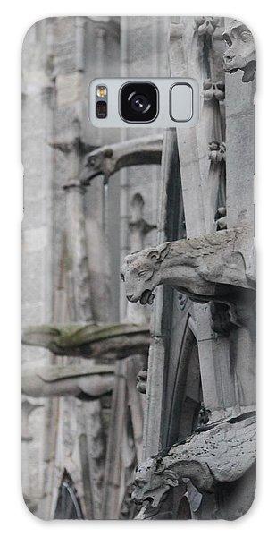 Gargoyles North Notre Dame Galaxy Case
